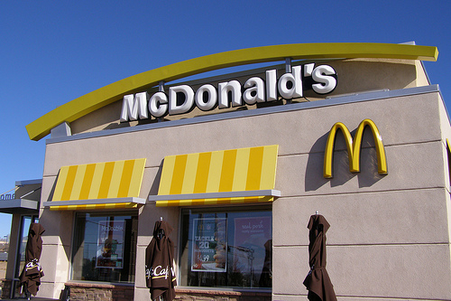 Call to Slash Salary of the CEO of McDonald's
