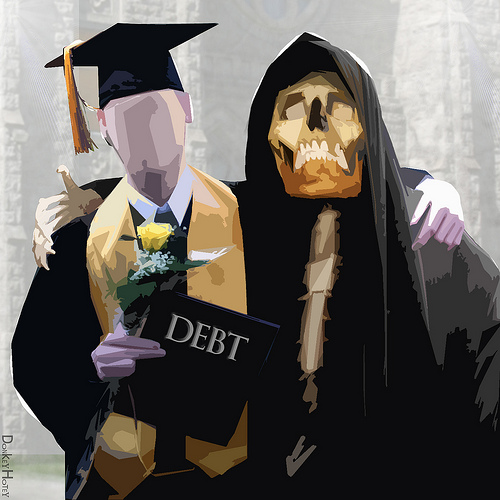grim reaper of debt