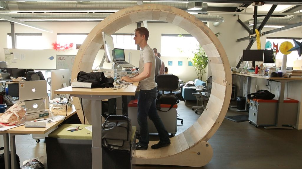 It Was Really Only a Matter of Time: This Human Hamster Wheel Now Exists