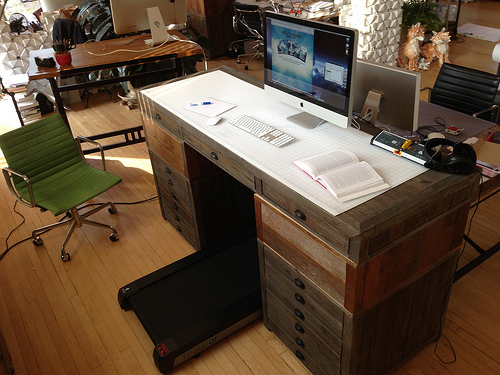 Treadmill Desks Make Employees Better at Their Jobs (Eventually)