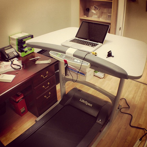 Treadmill Desks Can Boost Productivity (If We Use Them the Right Way)