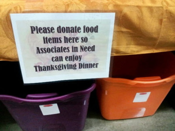 This Wal-Mart Is Running a Food Drive for Its Own Workers