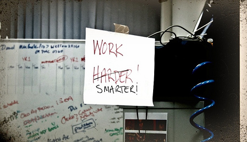3 Ways to Work Smarter, Not Harder