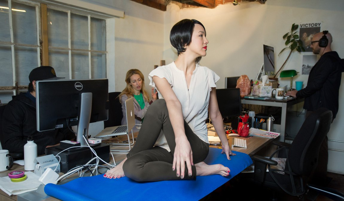 This Is a Real Thing: Yoga Pants for Work