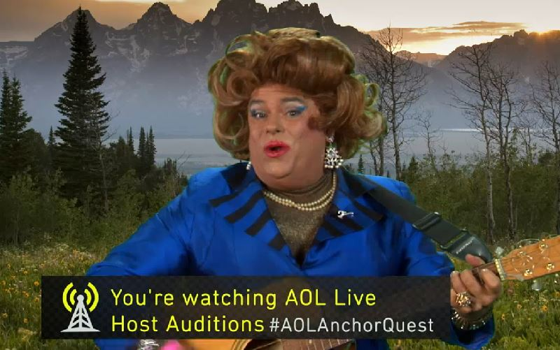 AOL Anchor Auditions: Live Job Interview In Front of 1 Million People