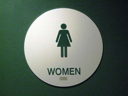 Female Senators Get a New Bathroom