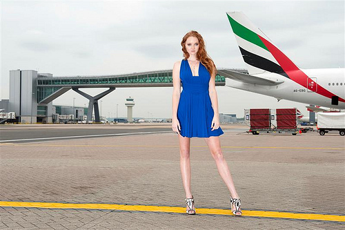 Fashion Models Strut Into U.S. More Easily Than Engineers