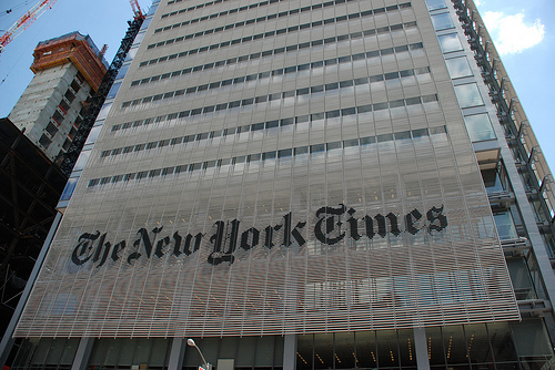 New York Times Cites Men 3.4 Times More Than Women