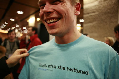 twitter round up - that's what she twittered