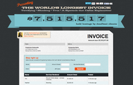 The World's Longest Invoice Fights for Independent Workers' Rights