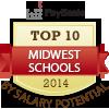 top ten midwest schools