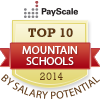 Best mountain region colleges by salary potential