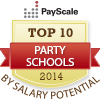 top ten party schools