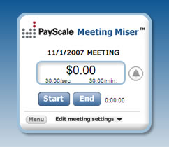 PayScale Meeting Miser