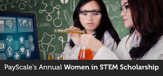 Scholarships For Women Scholarships Com >> Payscale Women In Stem Scholarship