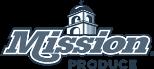 Mission Produce logo in monochrome