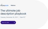 The Ultimate Job Description Playbook
