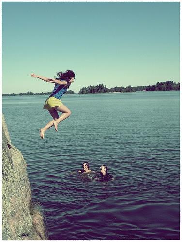 taking risks leap of faith